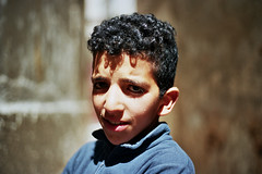 (michel nguie) Tags: michelnguie film analog fez fs medina kid boy bokeh morocco africa child wall eyes