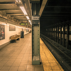 NYC - Subway.jpg (MissBoudin) Tags: brooklinbridge brooklyn flatironbuilding nyc newyorkcity rockefellercenter timesquare usa street