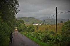 Trossachs in the Rain (brightondj - getting the most from a cheap compact) Tags: sixthwalk inversnaid scotlandrain weather rain summer2016 holiday summerholiday uk britain ukholiday