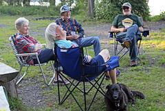 1288 (Jean Arf) Tags: trumansburg ny newyork summer 2016 cayuga lake yvie joanne jim kevin annie dog