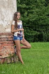 Happy girl (salas-3) Tags: smile happy colors summer nikon photography beautiful woman girl portrait