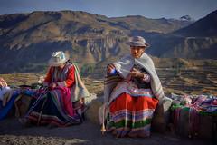 Peru (szeke) Tags: 2007 colca hat landscape mountain people peru portrait travel woman women