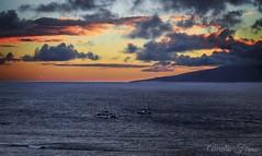 #sunset in #Maui #Hawaii #afterglow (lelobnu) Tags: afterglow sunset maui hawaii