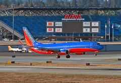 Southwest Airlines | Boeing 737-8H4 | N8312C (Vitaliy Lobanov) Tags: aereo aeroplane aeroplano aircraft airplane airport avia aviao aviation avion a99 spotting sony sonya99 slt99 sonyalpha sjc ksjc sanjose planespotting plane flugzeug