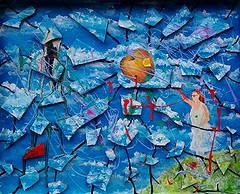 eva, chas, chas,chas (#Jarama) Tags: colour surrealismo pollock azul sky cierlo pop