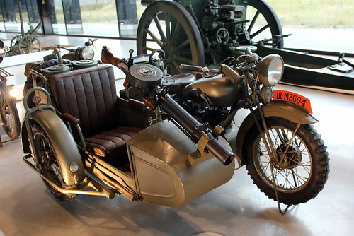 1938 BSA G14 motorcycle and sidecar