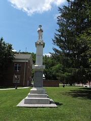 CONFEDERATE MEMORIAL (SneakinDeacon) Tags: civilwar swva bland confederatemonument
