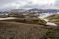 Hiking Landmannalaugar / ICELAND (ingoal18) Tags: iceland island landmannalaugar mountains mountain hills hill laugavegur snow schnee trail hike hiking begre spring hot heisse quellen weg der heissen d7100 nikkor 181400mm lightroom