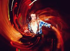 2010-04-21 DJ ([Ananabanana]) Tags: nikon d40 nottingham nottinghamshire notts gimp photoscape uk unitedkingdom 1855mm 1855 nikkor nikon1855mmkitlens nikon1855mm nikonafsdx1855mm nikkor1855mm nikkorafsdx1855mm club clubbing music dancing drinking drunk electricbanana bodega bodegasocialclub thesocial student students banana drinks bar gig dj mixing social young fisheye converter optekafisheyeconverter opteka035xfisheyeconverter optekafisheye opteka clubphotography clubphotographer nightclubphotography nightclubphotographer fisheyeportrait portrait cartoon nikonistas nikonista