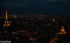 Paris-1-6.jpg (Wannabe birder) Tags: dusk paris city sky skyline architecture nikon d750 citylights eiffel invalides arcdetriomphe