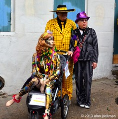 "Two Guys and a Doll, Jackson Square, Fat Tuesday, New Oleans"" (alan jackman) Tags: hat costume suits doll carriage stroller neworleans hats tie suit jacksonsquare mardigras manikin fattuesday babycarriage pinstrip pinstrips louisianalouisiana d7000 nikond7000 jackmanonjazz alanjackman"
