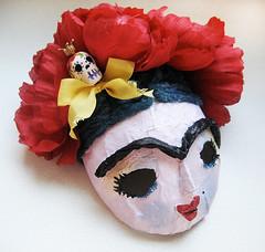 Frida Kahlo Mask for Blythe