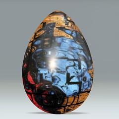 Ouija Nebula Eggr (seattlerayhutch45) Tags: graffiti egg digitalmanipulation eastereggs acdsee eggdecorating dumpr eggr
