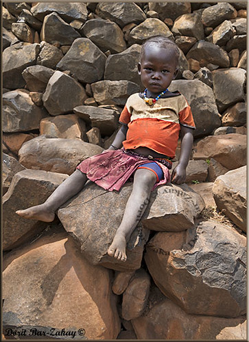 Konso little girl