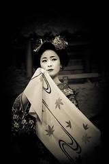 Chopin-nashi - 09 (Stphane Barbery) Tags: portrait japan kyoto maiko geiko geisha   gion japon odori