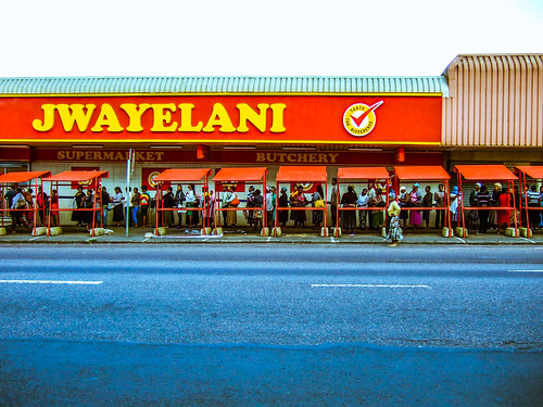 Queue Outside Jwayelani