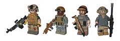 Battlefield 3 Multiplayer Classes (USMC) (-Yoshifan151-) Tags: 3 dice usmc digital marine lego arts corps tiny americans marines battlefield illusions electronic ea multiplayer ce classes tactical bf3 murica brickarms