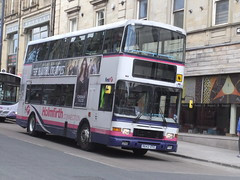 Huddersfield (Andrew Stopford) Tags: volvo first alexander royale huddersfield olympian r642hyg