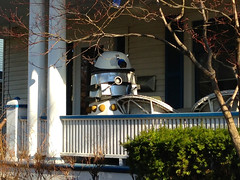 Neighborhood Dalek (doggo) Tags: doctorwho dalek exterminate drhoo uploaded:by=flickrmobile flickriosapp:filter=nofilter