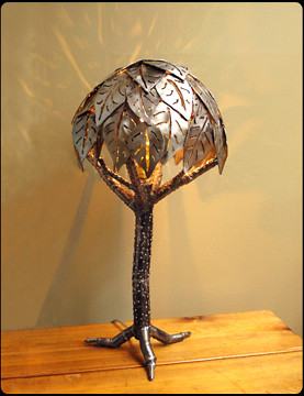 Shade Tree Table Lamp