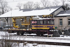 20130124 010 Hollerich. CFL 1061, Geismar Overhead Line Maintenance Vehicle (15038) Tags: trains luxembourg railways cfl 1061 hollerich ontrackplant geismar