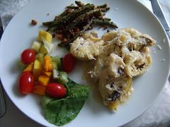 Conchiglione de shitake, ricota e gorgonzola (anaclara_luppi) Tags: massa queijo cogumelo shitake gorgonzola comidaitaliana molhobranco bechamel ricota comidavegetariana eatsandshoots