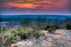 Sunset Across Stoke (Raven Photography by Jenna Goodwin) Tags: city sunset sun night evening town colours cloudy dusk tag stokeontrent staffordshire stoke hdr