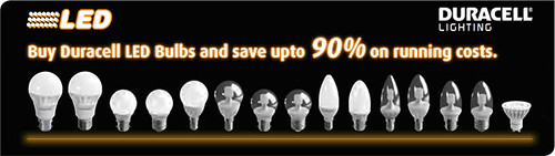 Duracell LED Bulbs