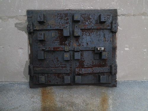 Awesome Coal Chute Door on the Masonic Temple