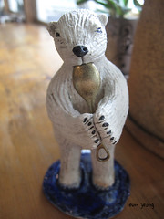 Polar bear (danahaneunjeong) Tags: bear ceramic polarbear polar icebear