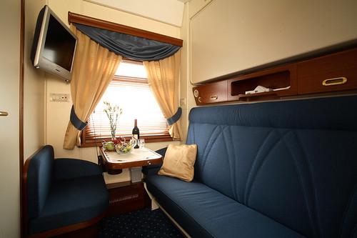 The Golden Eagle luxury train