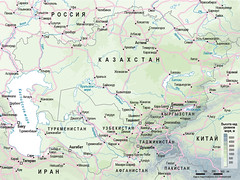 Central Asia /   (Zoi Environment Network) Tags: china pakistan sea lake afghanistan river asia iran russia map country border caspian geography tajikistan uzbekistan centralasia kazakhstan kyrgyzstan aral aralsea  turkmenistan      reliefmap                        climatechangeincentralasia