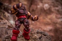 Hasbro Marvel Universe - Juggernaut (mrotskrad) Tags: toy toys photography action hobby hobbies marvel universe figures juggernaut hasbro
