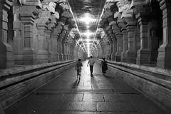 Untitled (Praveen_Guna) Tags: india architecture canon temple wide tokina holy shiva pillars hindu rameshwaram relegion incredibleindia ramanathapuram shivtemple