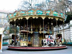 (Luiza Poulain) Tags: trip paris france frana montmartre viagem amlie poulain carrossel