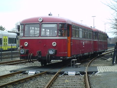 Railbus (cessna152towser) Tags: germany ddm railwaymuseum railbus schienenbus