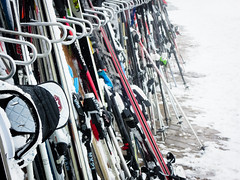 Ski parking (Channed) Tags: winter white snow ski fog austria oostenrijk wintersport tztal tyrol solden wintersports slden chantalnederstigt