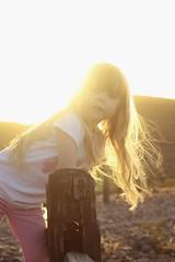 golden hour 8 (Michael Kenan) Tags: sunset arizona mountain phoenix girl golden little daughter az lookout hour blonde phoenixmountainpreserve