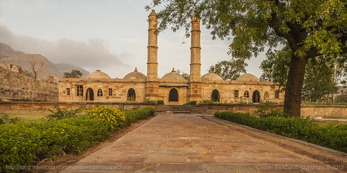 India - The Mosque of the city, Gujarat