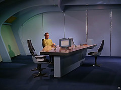 1967 ... loneliness of command! (x-ray delta one) Tags: sf startrek mars illustration vintage ads advertising space ad astronaut ufo aliens retro nasa nostalgia 1940s 1950s spacestation scifi americana sciencefiction spaceship 1960s outerspace tomorrowland atomic populuxe rocketship cosmonaut coldwar thefuture aerospace cccp worldoftomorrow flyingsaucers spacerace spaceexploration warpdrive jamesvaughan