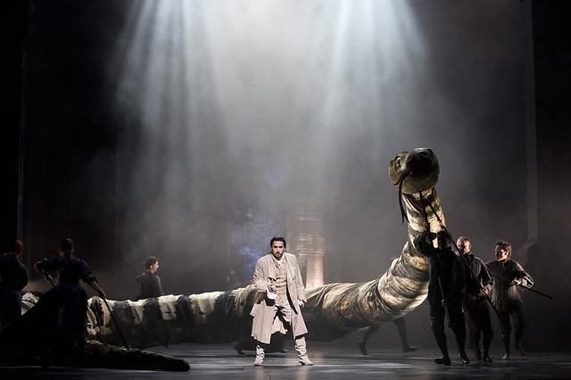 Charles Castronovo as Tamino in Die Zauberflöte © ROH / Mike Hoban 2013