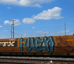 RUEN '07 (YardJock) Tags: car train graffiti zee container freight intermodal sestor