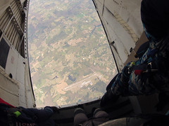 """Boogie Bonanza 2013, checking the spot (divemasterking2000) Tags: party sky skydiving flying spring al jump jumping alabama dive diving celebration gathering western april boogie theme skydive canopy themed dropzone parachuting apr sda parachute dz bonanza canopies skyjump gather parachutes skyflying """"western skyfly 2013 skyjumping theme"""" """"boogie alabama"""" """"skydive bonanza"""" themed"""""""