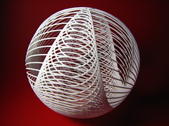 Cardioidal Sphere (fdecomite) Tags: print 3d printing math blender povray cardioid shapeways