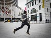 In a hurry {color version} (unoforever) Tags: barcelona street people man color photography calle gente taxi streetphotography run streetphoto hurry hombre bcd correr fotografía prisa streetcolor spcolor unoforever