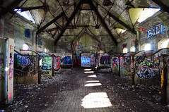 Abandoned Building in Newport (pmank) Tags: ri abandoned graffiti nikon empty sigma wideangle rhodeisland newport 1020mm deserted d5000 nikond5000
