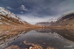 Solitude (SMBukhari) Tags: pakistan lake mountains reflection water landscape mirror spring snowy baltistan ghizar gilgitbaltistan syedmehdibukhari smbukhari