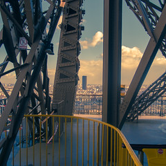 Lonely Tower (NCazard) Tags: paris fuji eiffeltower toureiffel fujinon fujixpro1