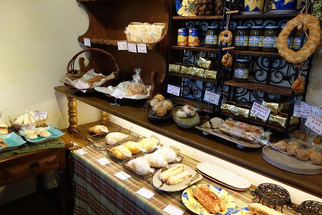 くのパンは、リゾートにあるパン屋さんにしては種類が豊富です。|くのパン
