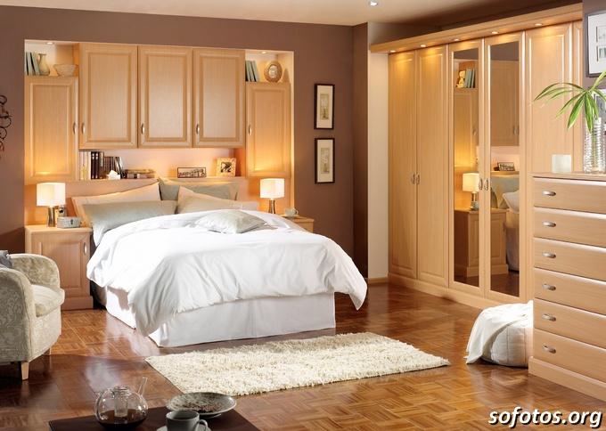 quarto decorado simples